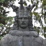 Piatra Neamt Statuia lui Stefan cel Mare-9195